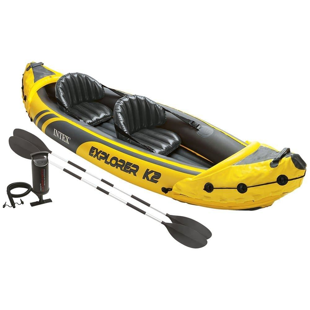 Intex Explorer K2 Kayak Review | Specifications, Features, Pros & Cons