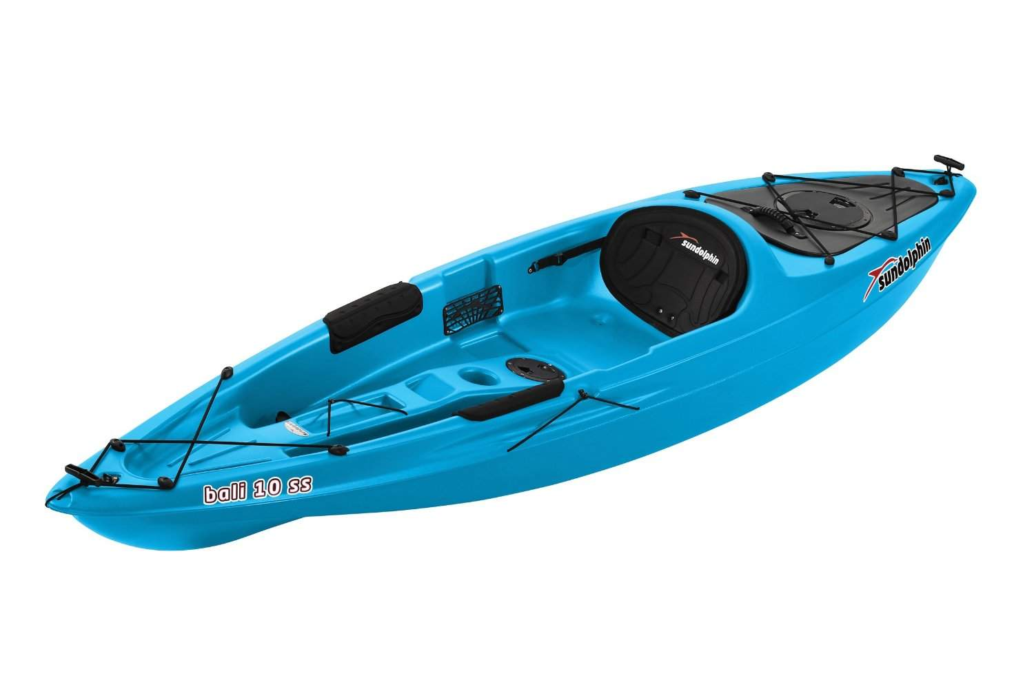Sun dolphin bali 10 sit on kayak specifications for Fishing kayaks reviews