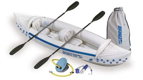 Sea Eagle 330 Inflatable Kayak with Deluxe Package review | Inflatable Kayak