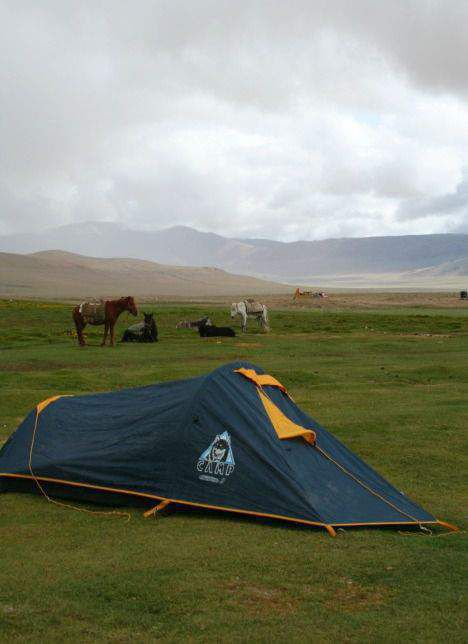 Camping in northern india